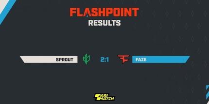 Sprout выбила FaZe Clan из RMR-турнира Flashpoint 3 для Европы