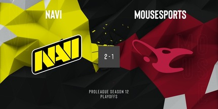 Natus Vincere прошла в полуфинал виннеров ESL Pro League S12 по CS:GO