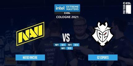 Игроки NAVI разгромили G2 и стали чемпионами IEM Cologne 2021