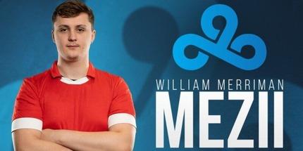 Британец Уильям mezii Мерриман стал вторым новичком Cloud9 по CS:GO