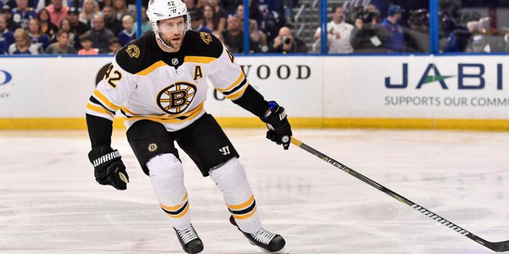 Бостонец Дэвид Бэйкс начнет 13-й сезон в НХЛ
