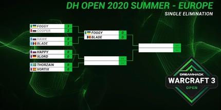 Украинец Foggy вышел в полуфинал DreamHack Warcraft III Open для Европы