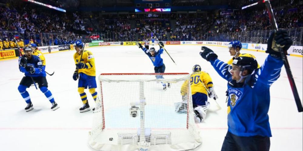 Финляндия выбила Швецию из четвертьфинала ЧМ-2019