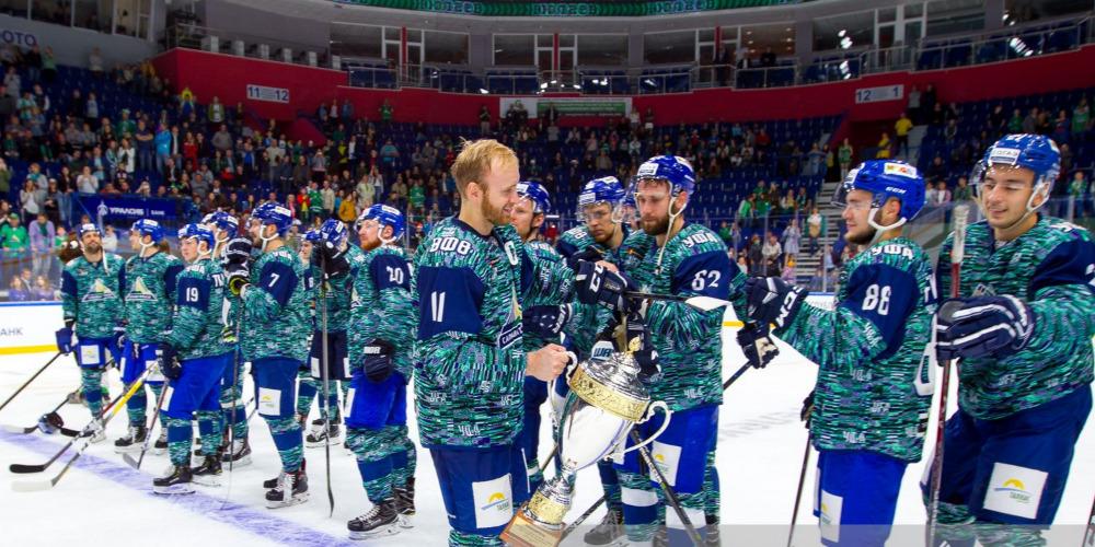 «Салават Юлаев» выиграл Кубок республики Башкортостан
