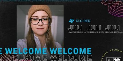 Джулиана Juli Тосич укомплектовала команду CLG Red по CS:GO