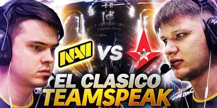 Видео: тимспик NAVI в игре против Astralis на IEM Katowice 2020 по CS:GO
