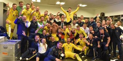 Украина занимает 24-е место в рейтинге ФИФА