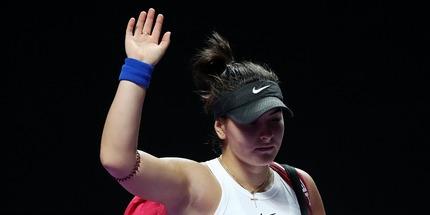 Бьянка Андрееску закончила сезон досрочно