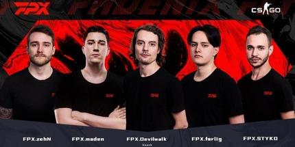 Официально: FPX Esports выкупила состав GODSENT по CS:GO