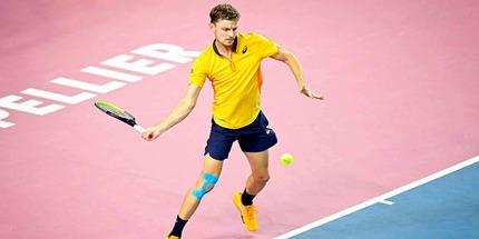 Давид Гоффин стал первым финалистом турнира в Монпелье