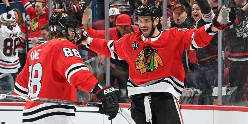 Анисимов Чикаго НХЛ