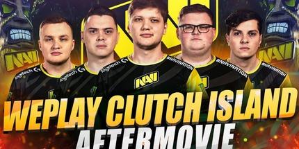 Видео: лучшие моменты NAVI на WePlay! Clutch Island по CS:GO