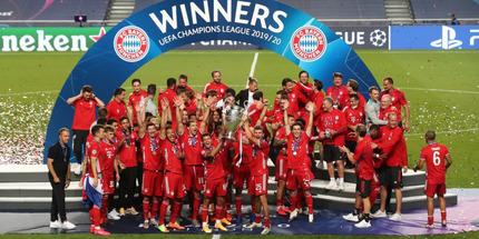 Бавария - победитель Лиги чемпионов