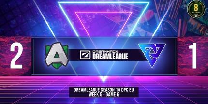 Alliance переиграла Tundra в своей шестой игре на Dota Pro Circuit 2021: S2