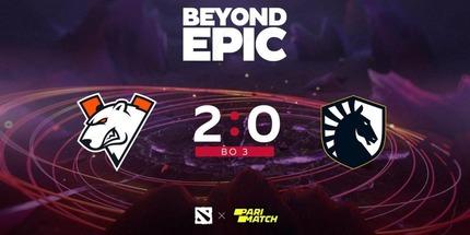 Virtus.pro переиграла Liquid в своём 3-м матче BEYOND EPIC по Dota 2