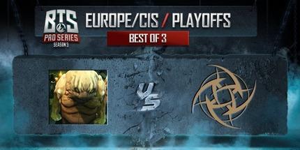 Микс mudgolems вышел в гранд-финал BTS Pro Series S3: Europe/CIS по Dota 2