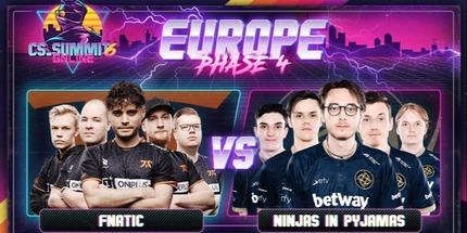 Fnatic одолела NiP в 1/4 финала cs_summit 6 по CS:GO для Европы