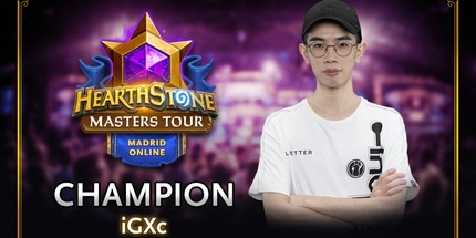 Китаец Xc стал чемпионом на Masters Tour 2020 Madrid по Hearthstone