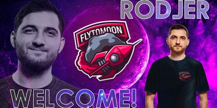 Официально: RodjER стал игроком команды FlyToMoon по Dota 2
