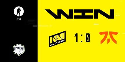 Молодёжный состав NAVI переиграл Fnatic Rising на WePlay Academy League