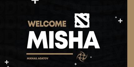 Misha сыграет за Ninjas in Pyjamas на OMEGA League по Dota 2