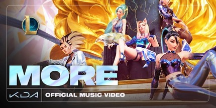 Видео: новый клип K‑pop группы K/DA из League of Legends