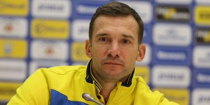 Шевченко огласил состав сборной Украины на матчи отбора Евро