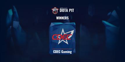 CDEC Gaming выиграла второй сезон OGA Dota PIT 2020 для Китая