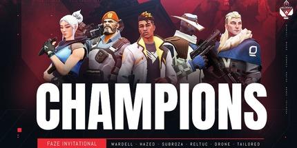 Team SoloMid победила на FaZe Clan Invitational по Valorant
