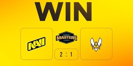 NAVI выиграла Vitality в первой игре DreamHack Masters Spring по CS:GO