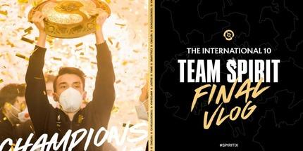Видео: чемпионский влог Team Spirit на The International 10