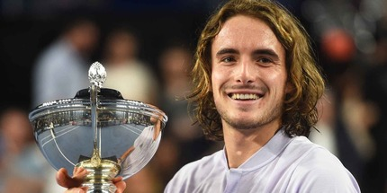 Стефанос Циципас выиграл турнир в Марселе