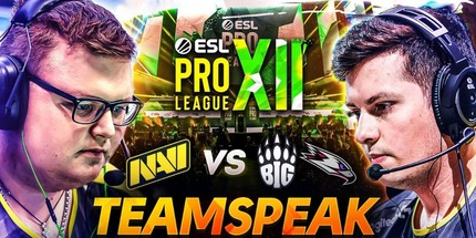 Видео: тимспик игроков NAVI на ESL Pro League Season 12 по CS:GO