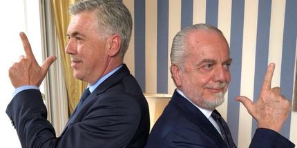 Карло Анчелотти и Аурелио Де Лаурентис