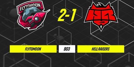 FlyToMoon обыграла HellRaisers в матче Parimatch League S3 по Dota 2