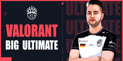 Официально: Ultimate стал игроком BIG по Valorant