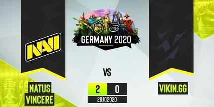 Natus Vincere обыграла Vikin на ESL One Germany 2020 по Dota 2