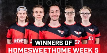 Игроки Heroic выиграли 5-й турнир серии HomeSweetHome по CS:GO