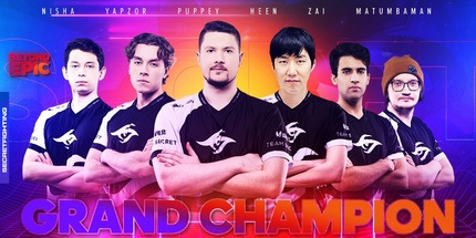 Team Secret выиграла онлайн-турнир BEYOND EPIC: Europe/CIS по Dota 2
