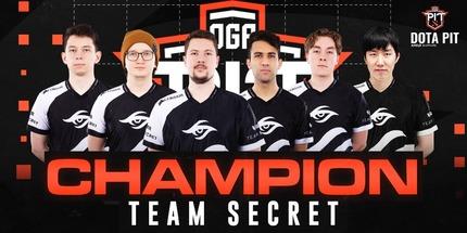 Игроки Team Secret победили на OGA Dota PIT 2020 Online: Europe/CIS