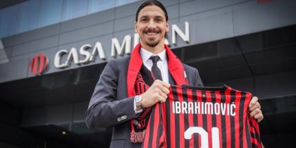 Милан хочет продлить контракт с Ибрагимовичем