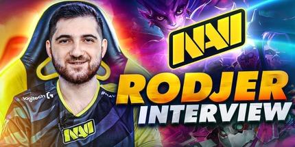Видео: RodjER рассказал о буткемпе NAVI, топ-1 в СНГ и секрете Team Secret