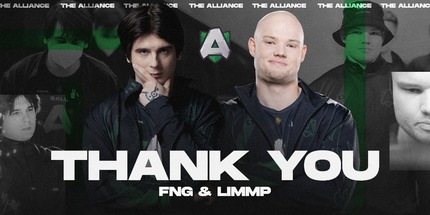 Fng и Limmp покинули Alliance и стали свободными агентами