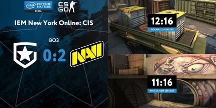 NAVI обыграла Gambit в 1/4 финала IEM New York Online: CIS по CS:GO
