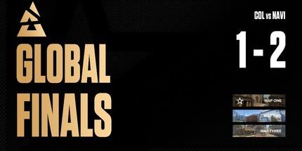 NAVI победила Complexity в игре на вылет из BLAST Premier: Global Final