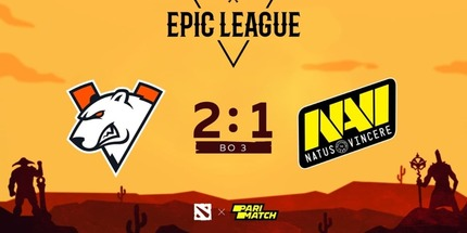 Virtus.pro победила Natus Vincere на EPIC League по Dota 2