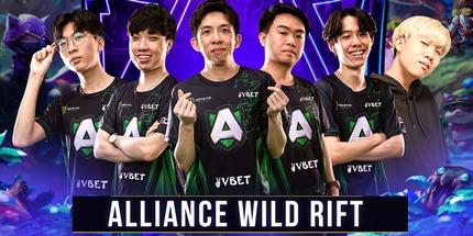 Alliance подписала сингапурский состав по League of Legends: Wild Rift