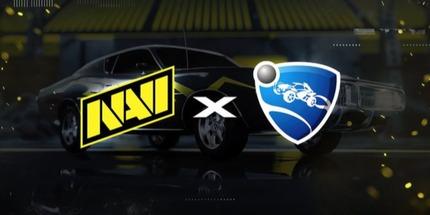 Украинский клуб NAVI подписал микс Fadeaway по Rocket League из Европы