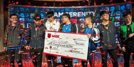 Team Serenity победила на WSOE по Dota 2 в Лас-Вегасе. Команда Ильи Illidan Пивцаева заняла 3-4 место