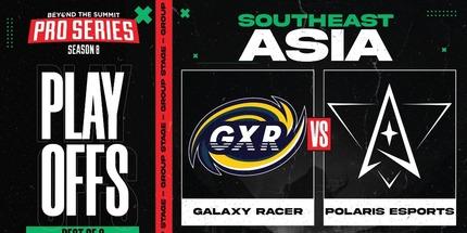 Galaxy Racer и Execration покинули BTS Pro Series S8: Southeast Asia